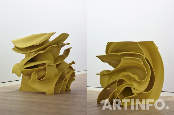 Tony Cragg, 'Parts of World'. bronze, 123x100x100cm, 2014.(사진=우손갤러리)